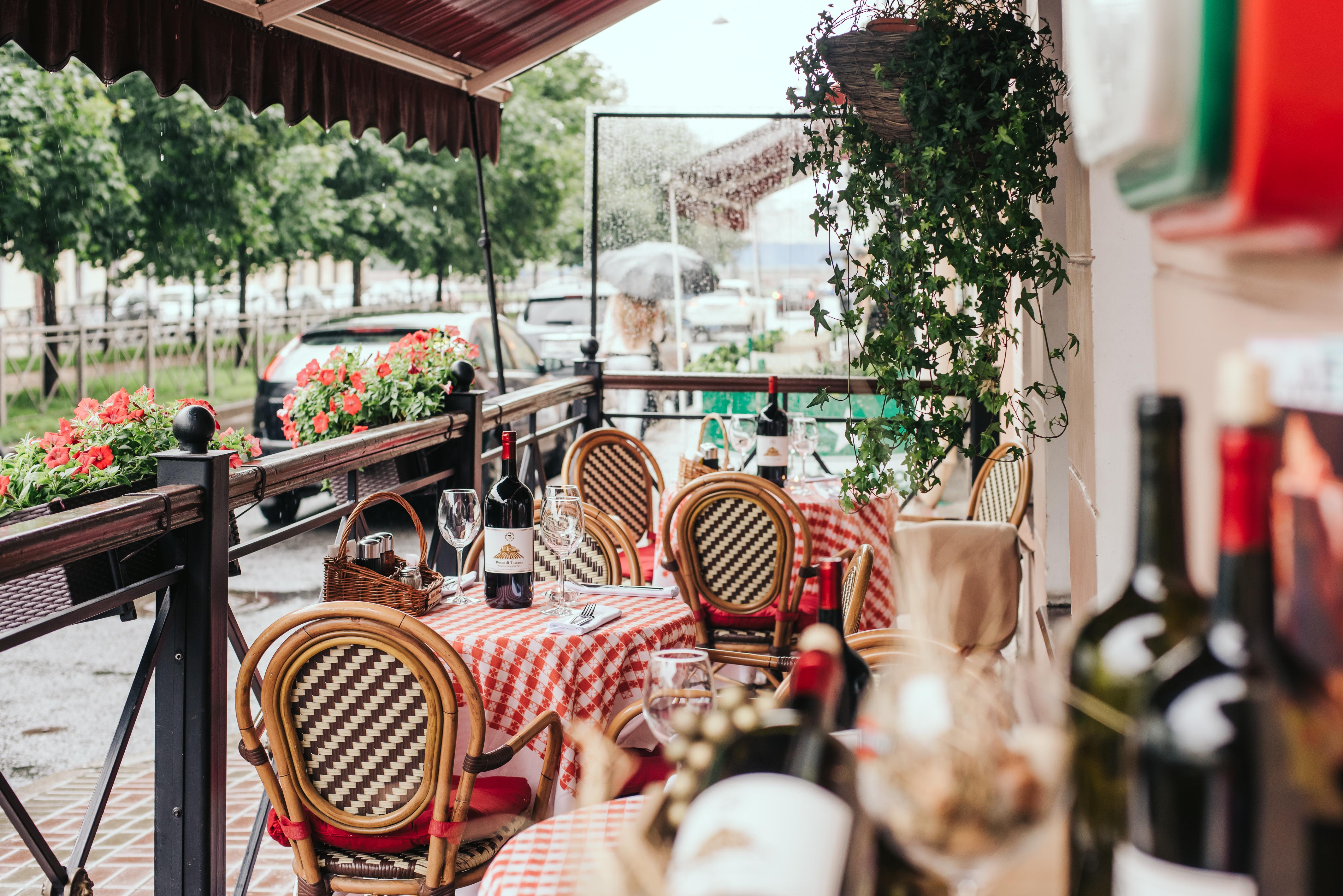 ресторан в итальянском стиле фото что вам